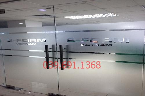 vách kính văn phòng Hà Nội