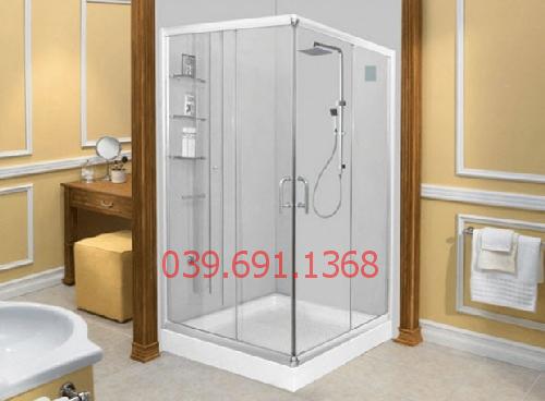Mẫu cửa kính cường lực phòng tắm