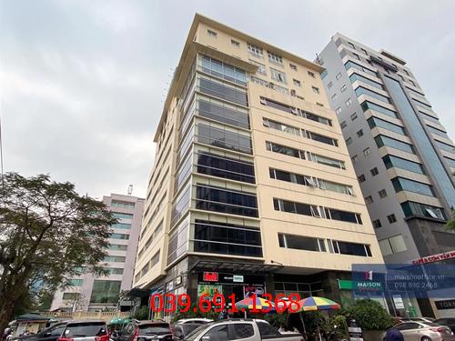 Công dụng vượt trội của thi công vách kính cường lực văn phòng tại tòa nhà Kim Ánh-Duy Tân
