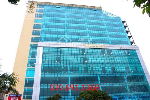 thi công vách kính cường lực văn phòng tại Toà nhà An Phú Building