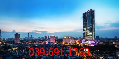 Tìm hiểu đơn vị thi công vách kính cường lực văn phòng tại tòa nhà Kim Hoàn