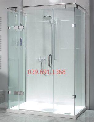 Vách kính nhà tắm cao cấp