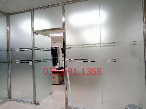 thi công vách kính cường lực văn phòng tại tòa nhà Handico Tower Phạm Hùng
